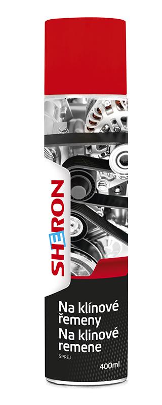 SHERON Sprej klínové řemeny 400 ml - 1 ks