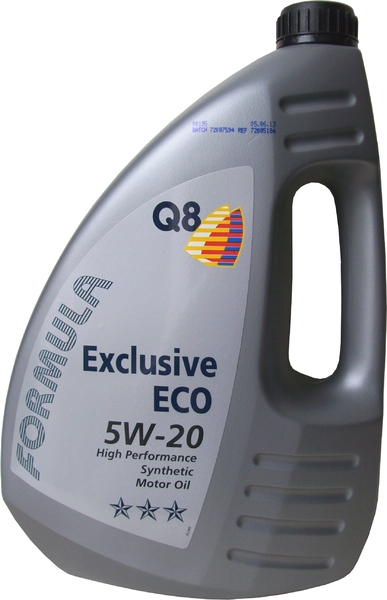 Q8 FORMULA EXCLUSIVE ECO 5W-20 - 4 litry