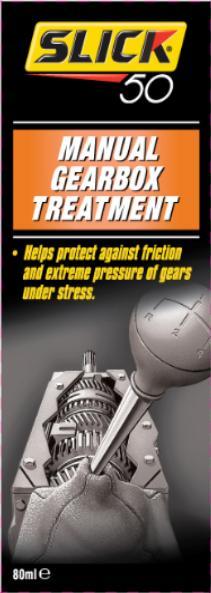 SLICK 50 ochrana manuální převodovky Manual Gearbox Treatment - 80ml