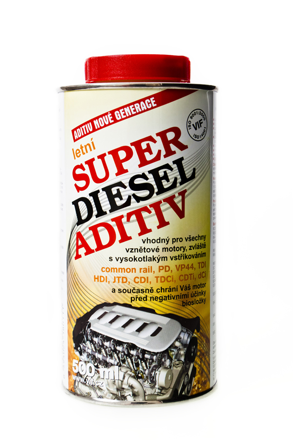 Vif super diesel aditiv aditiva do nafty letní - 12x500 ml