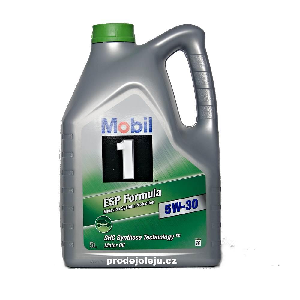 Mobil1 ESP FORMULA 5W-30 - 5 litrů