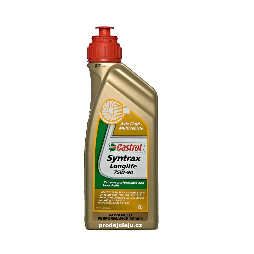 Castrol Syntrax Longlife 75W-90 - 1L