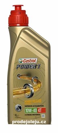 Castrol Power 1  4T 10W-40 - 1 litr