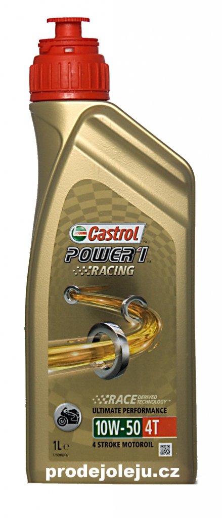 Castrol Power 1 Racing 4T 10W-50 - 4x1 litr