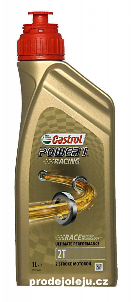 Castrol Power 1 Racing 2T - 4x1 litr