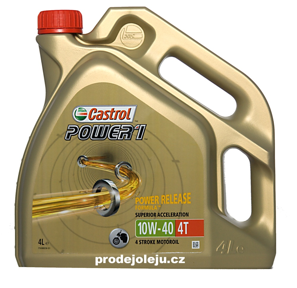 Castrol Power 1 4T 10W-40 - 4 litry