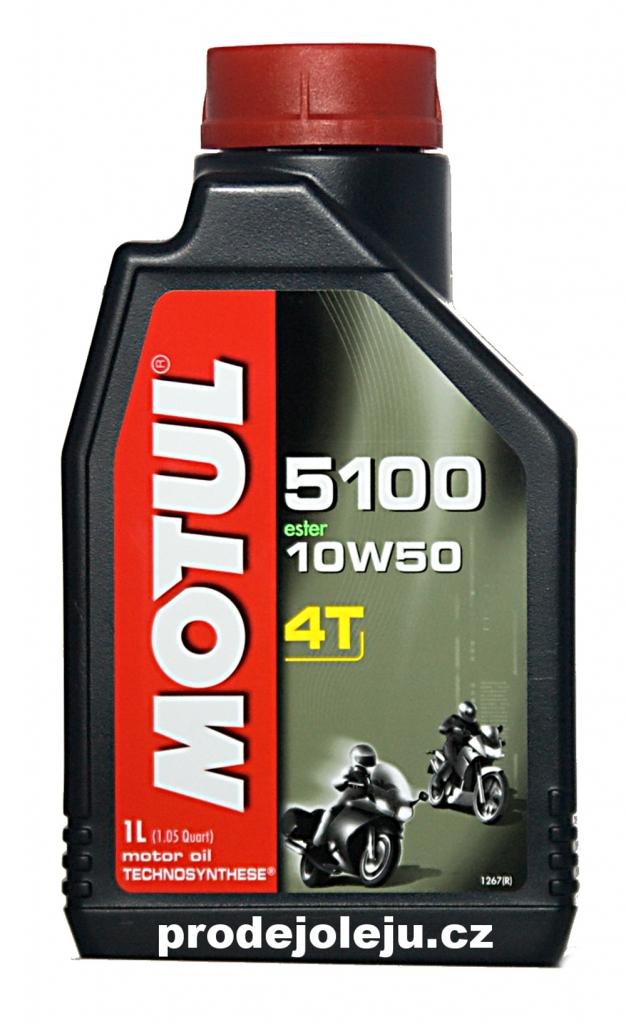 MOTUL 5100 Ester 4T 10W-50- 4x1 litr