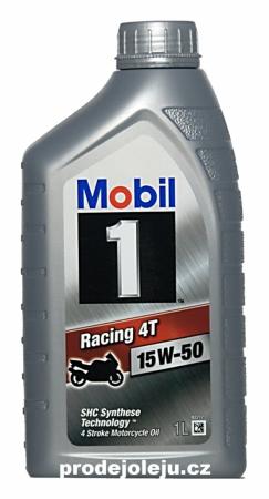 Mobil 1 Racing 4T 15W-50 - 1 litr