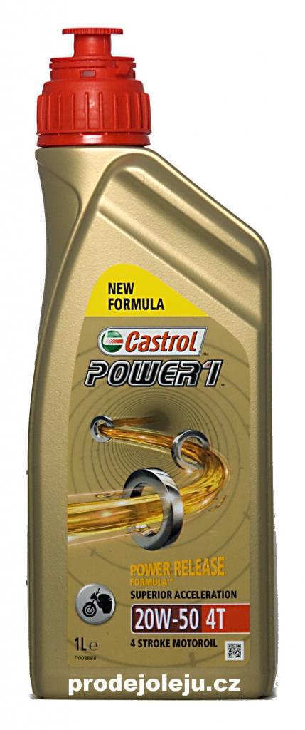 Catrol Power 1 20W-50 4T - 4x1 litr