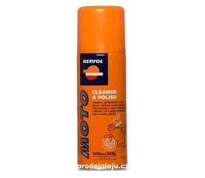 REPSOL MOTO CLEANER & POLISH - 400 ml