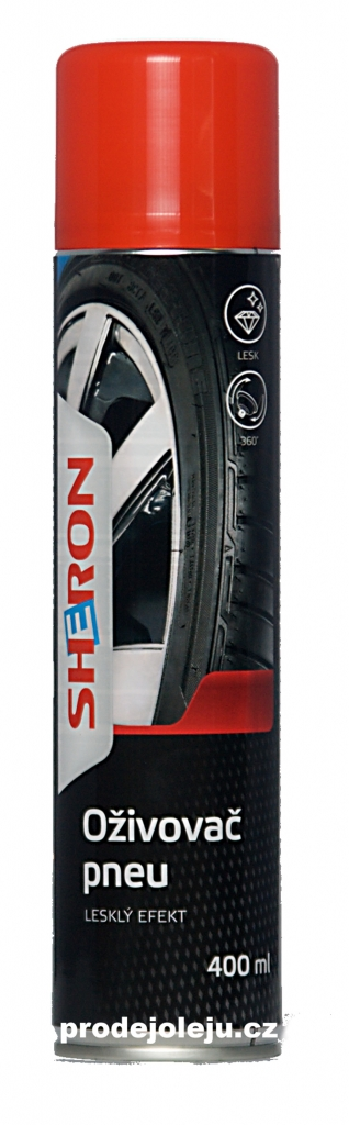 Sheron oživovač pneu lesklý - 400 ml