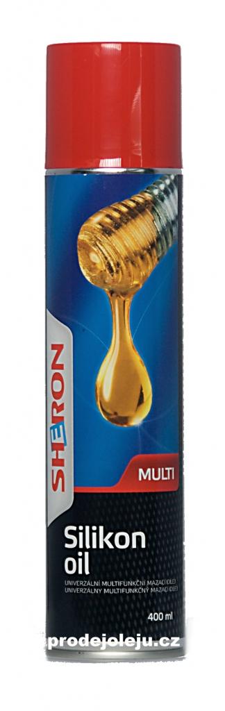 Sheron silikonový olej sprej - 400 ml
