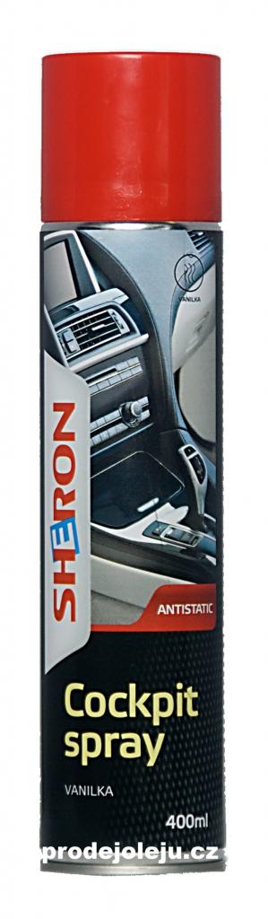 Sheron cockpit sprej Vanilka - 400 ml
