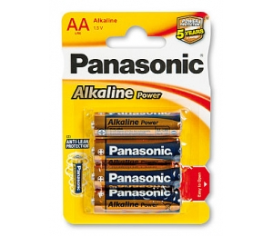 Panasonic Alkaline Power AA 1,5 V - 4 ks