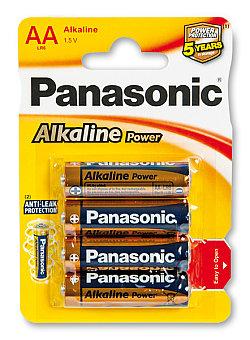 Panasonic Alkaline Power AA 1,5 V - 4 ks