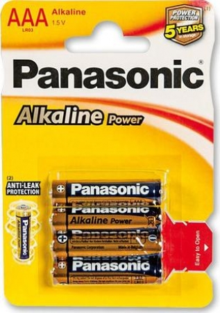 Panasonic Alkaline Power AAA 1,5 V - 4 ks