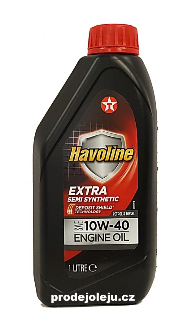 Texaco Havoline Extra 10W-40 - 1 litr