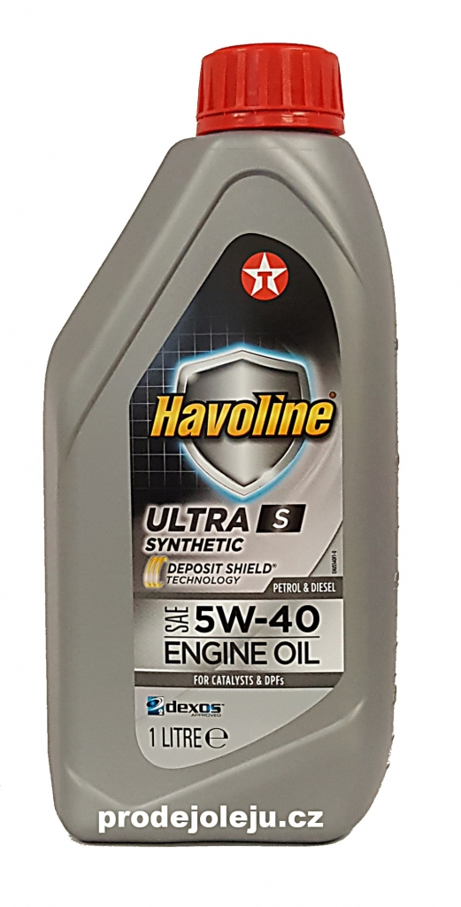 Texaco Havoline Ultra S 5W-40 - 1 litr