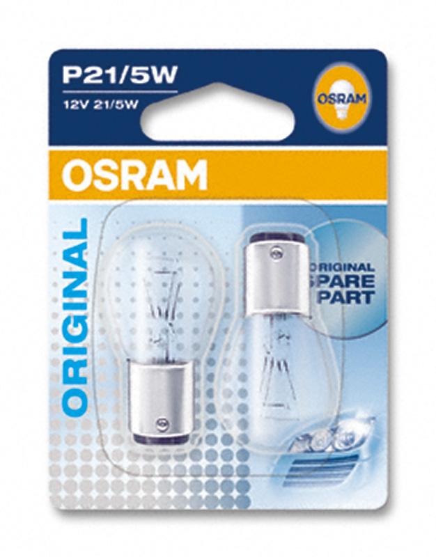OSRAM P21/5W 12V Standard - 1 balení