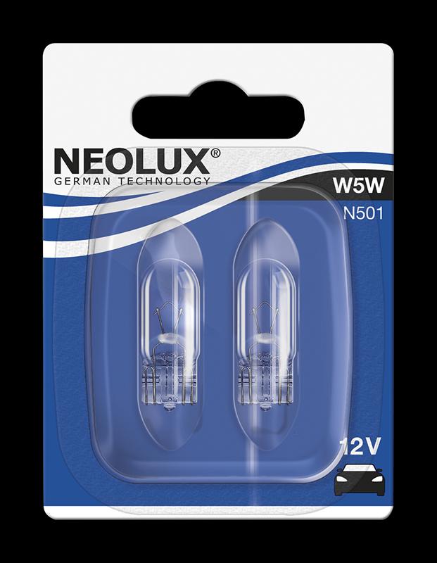 NEOLUX W5W 12V Standard duo - 1 balení