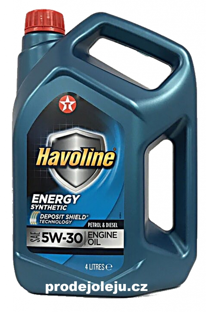 Texaco Havoline Energy 5W-30 - 4L