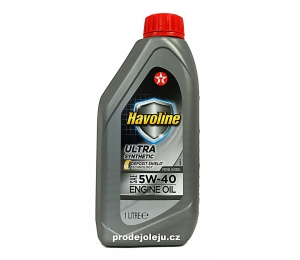 Texaco Havoline Ultra 5W-40 - 1 litr