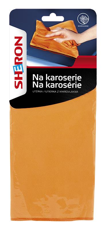 SHERON Utěrka z mikrovlákna na karoserie - 1 ks