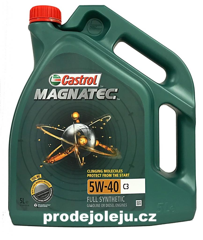 Castrol Magnatec 5W-40 C3 - 5 litrů