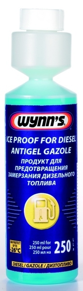 Wynns ICE PROOF FOR DIESEL aditiva do nafty zimní - 250 ml
