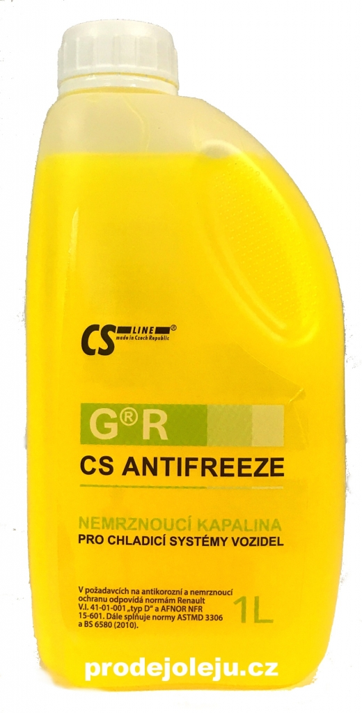 CS ANTIFREEZE G R - 1L