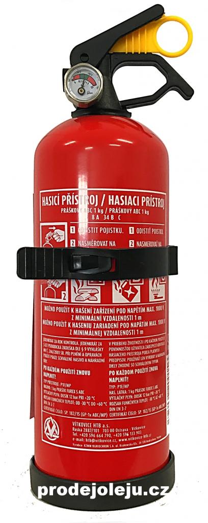 Hasicí přístroj práškový 1kg - 1 ks