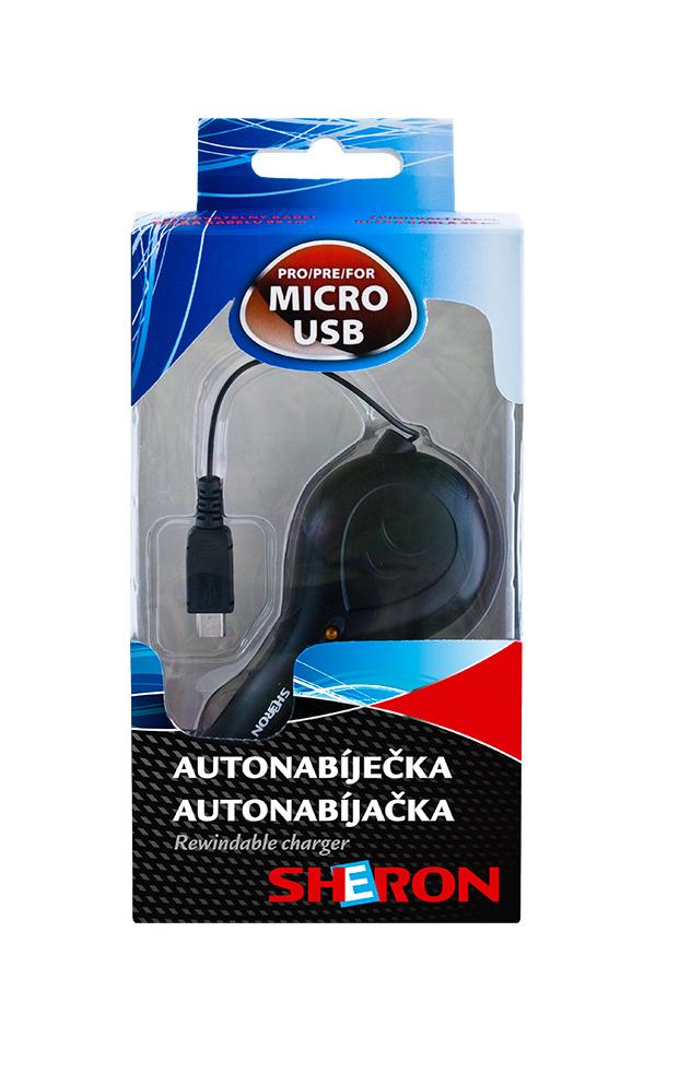 SHERON Nabíječka USB micro - 1 ks