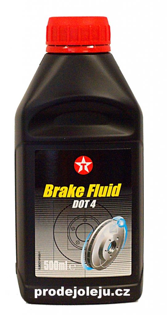 Texaco Brake Fluid DOT 4 - 0,5L