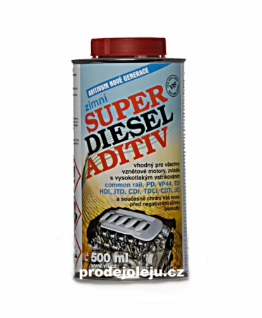 Vif super diesel aditiv aditiva do nafty zimní - 6x500 ml