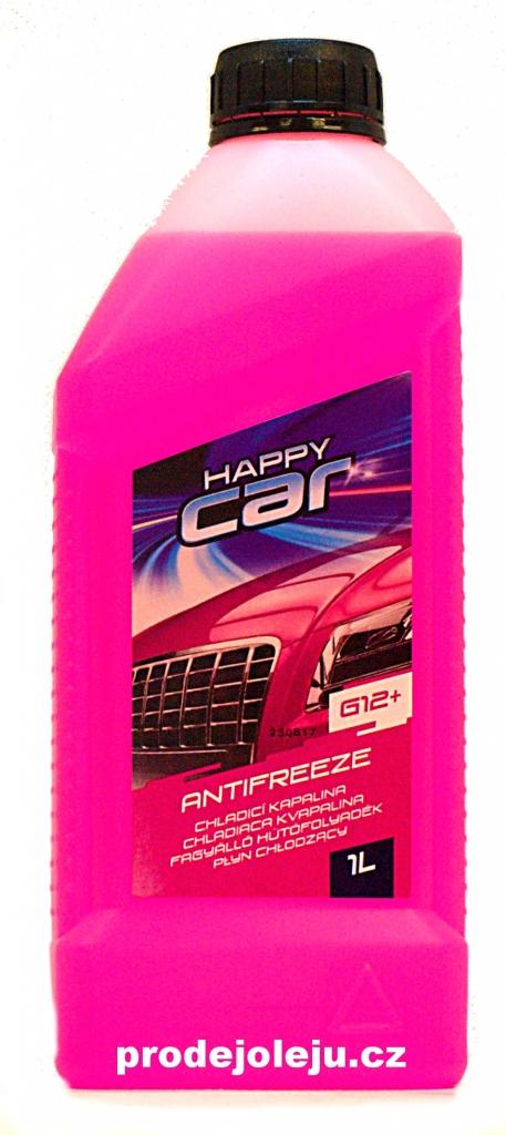 Happy Car Antifreeze G12+ TL VW 774 D/F růžový- 1L