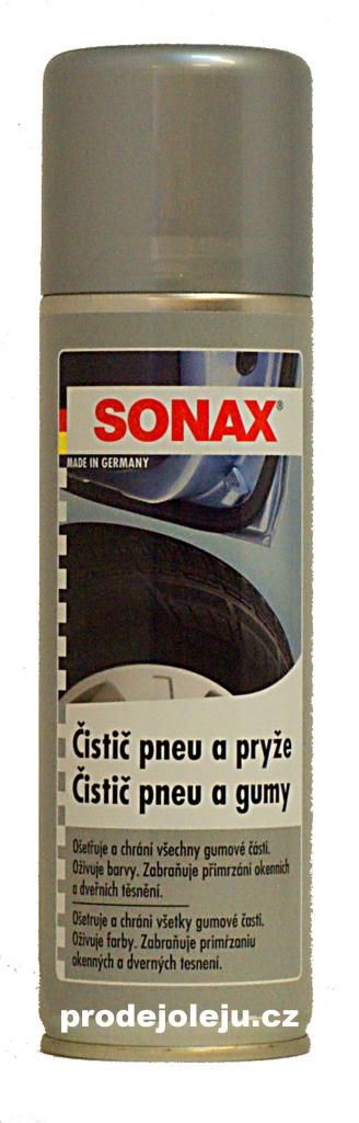 SONAX čistič pneu a pryže (GummiPfleger) - 300 ml