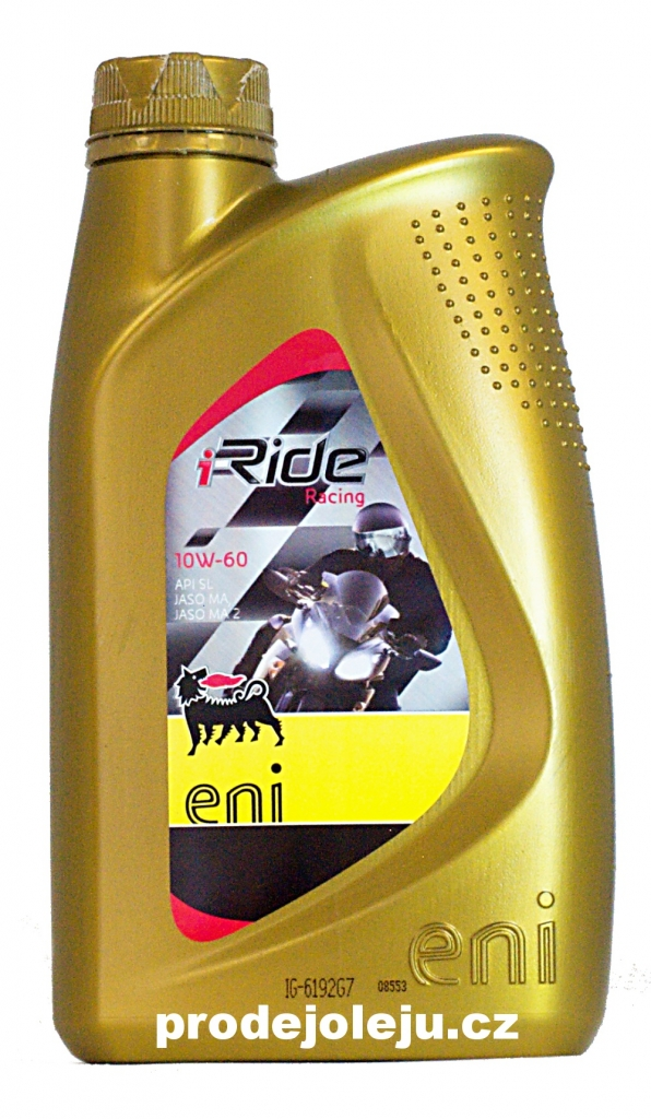 Eni i-Ride racing 10W-60 - 4x1L