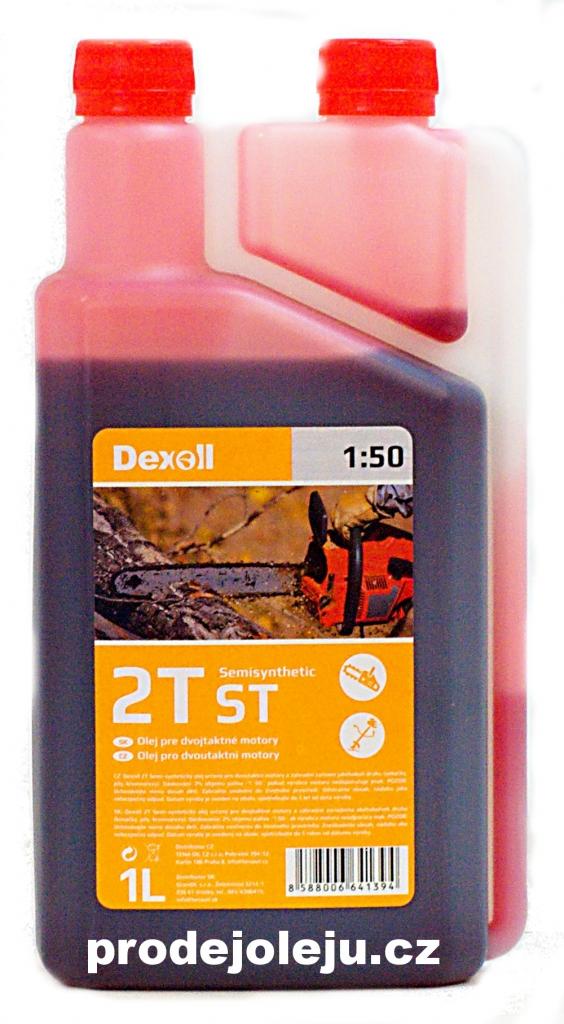 Dexoll 2T ST červený - 1L