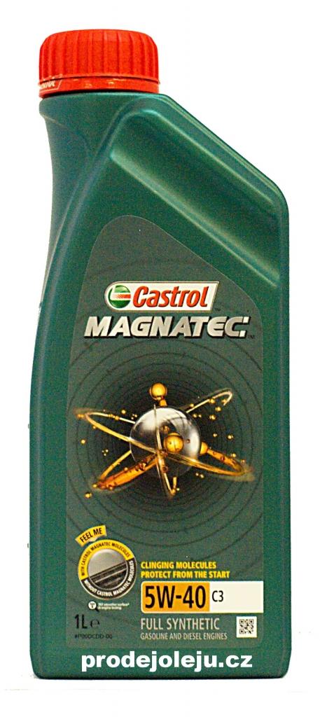 Castrol Magnatec 5W-40 C3 - 1 litr