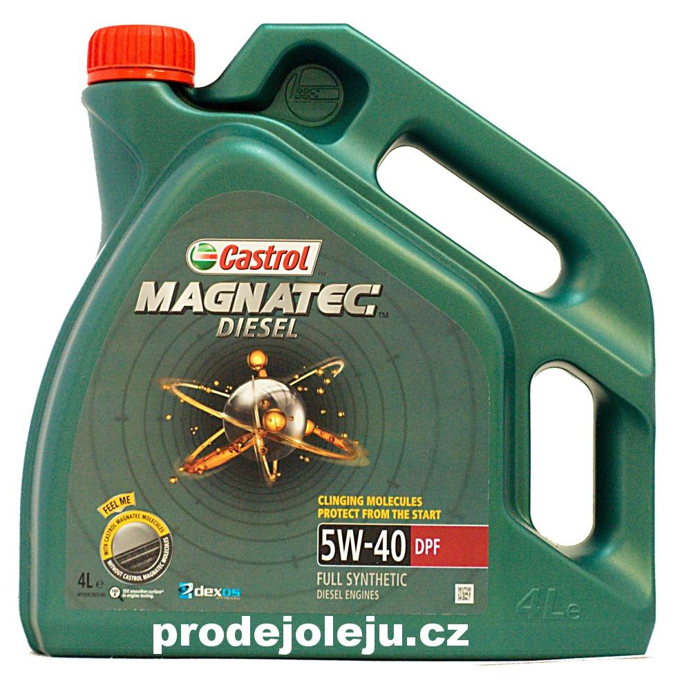 Castrol Magnatec Diesel 5W-40 - 4L