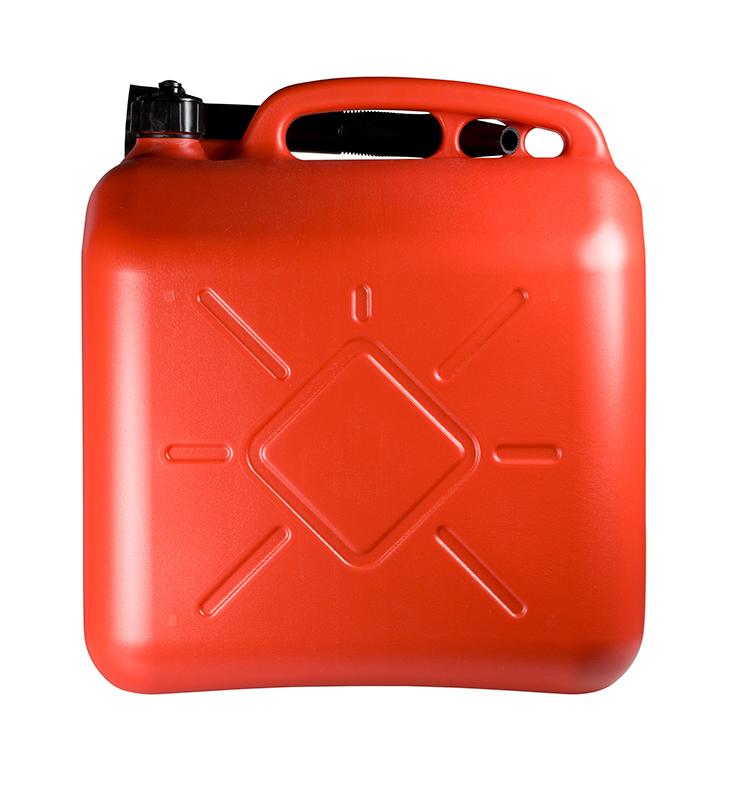 Sheron kanystr na PHM 20 litrů červený - 1 ks