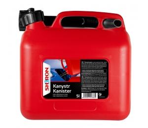 Sheron kanystr na PHM 5 litrů červený - 1 ks