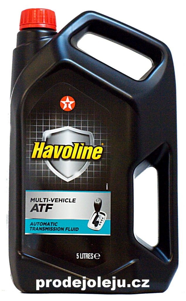 Texaco Havoline Multi-Vehicle ATF - 5L