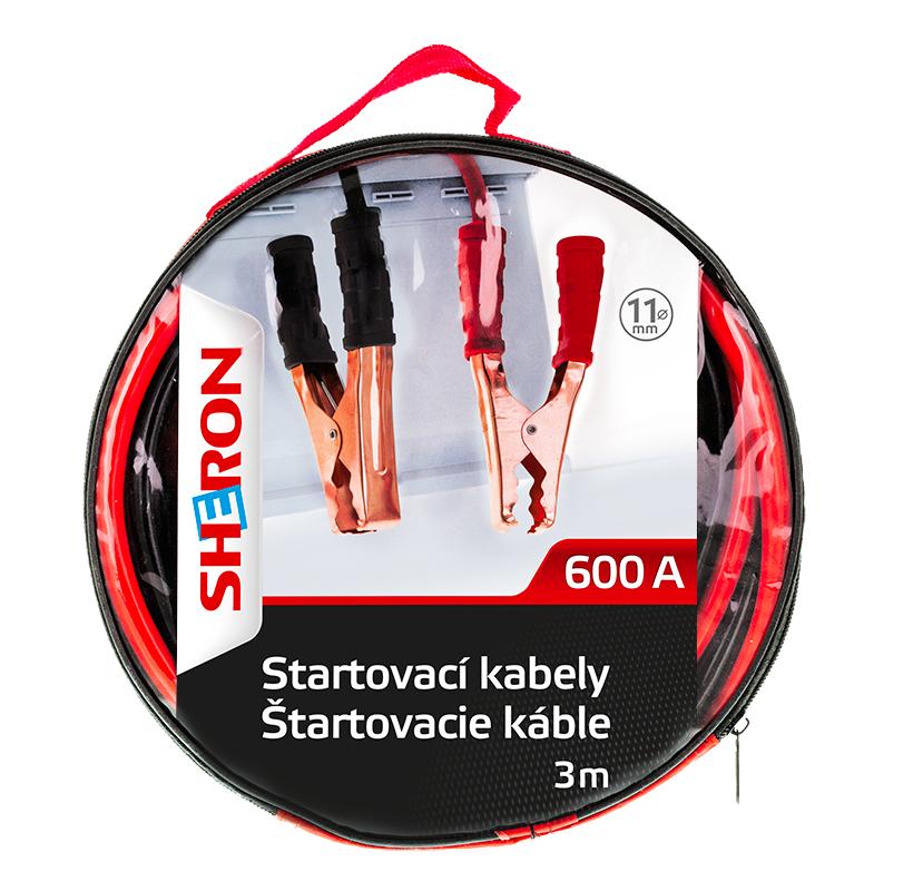Sheron startovací kabely 600A - 1 ks