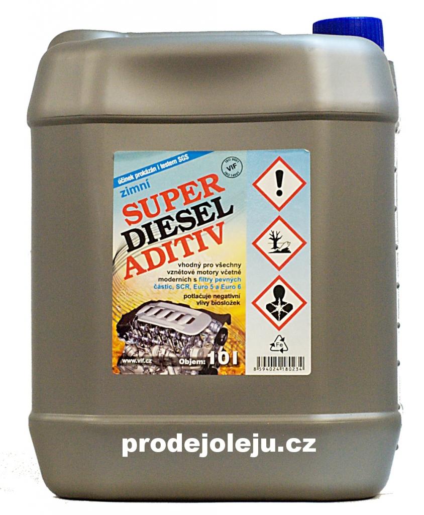Vif super diesel aditiv aditiva do nafty zimní - 10L