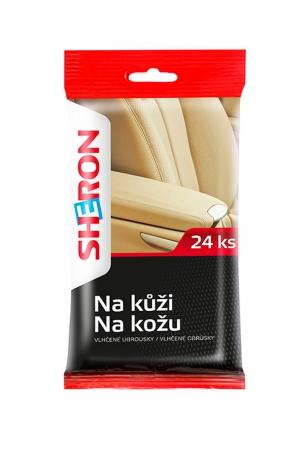 SHERON ubrousky na kůži - 1 balení