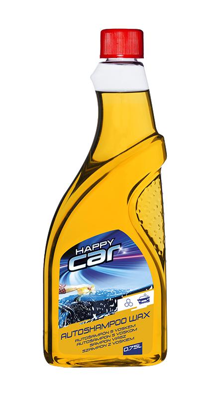 Happy Car autošampon s voskem - 750 ml