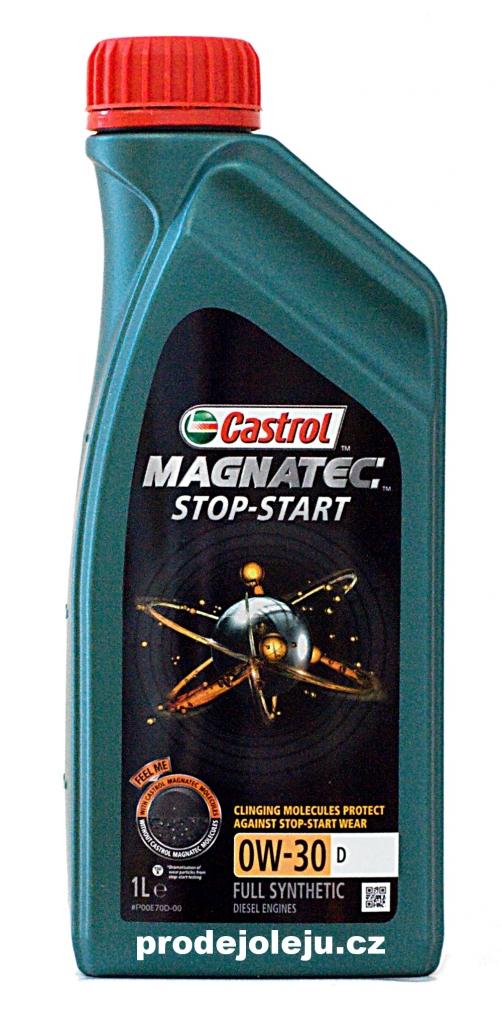 Castrol Magnatec Stop-Start 0W-30 D - 1L
