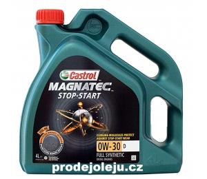 Castrol Magnatec Stop-Start 0W-30 D - 4L