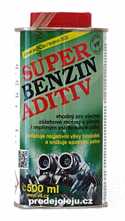 Vif super benzin aditiv aditiva do benzínu - 6x500 ml